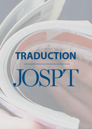 Traduction JOSPT / Saraceni et al. 2020